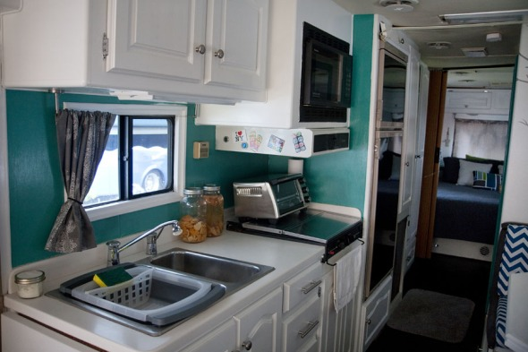 Rv Motorhome Interior Remodel Not All Those Who Wander